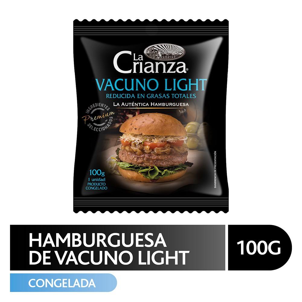 Hamburguesa de vacuno light