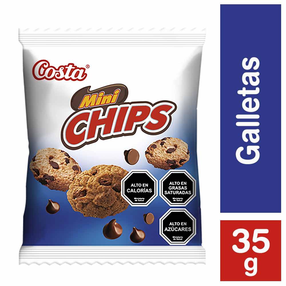 Galleta mini chips choc
