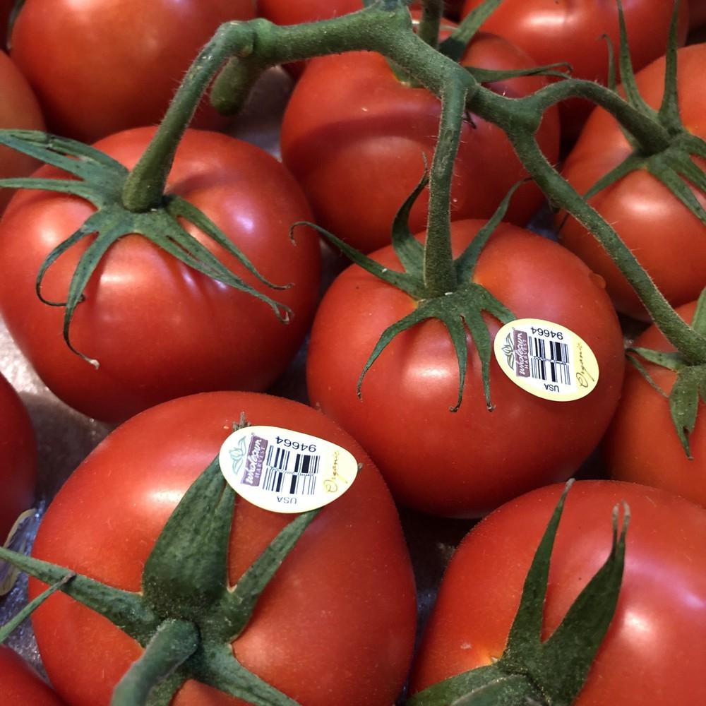 Organic local vine tomatoes 1lbs