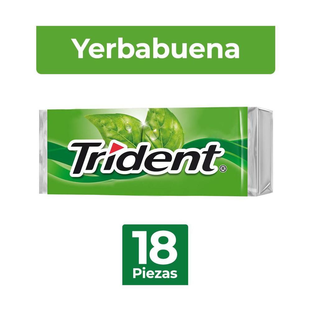 Goma de mascar sabor yerbabuena