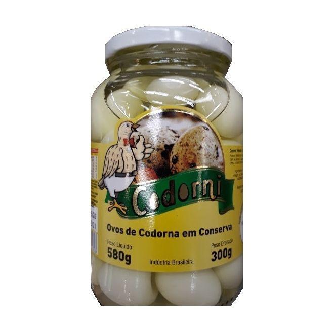 Ovos de cordorna em conserva