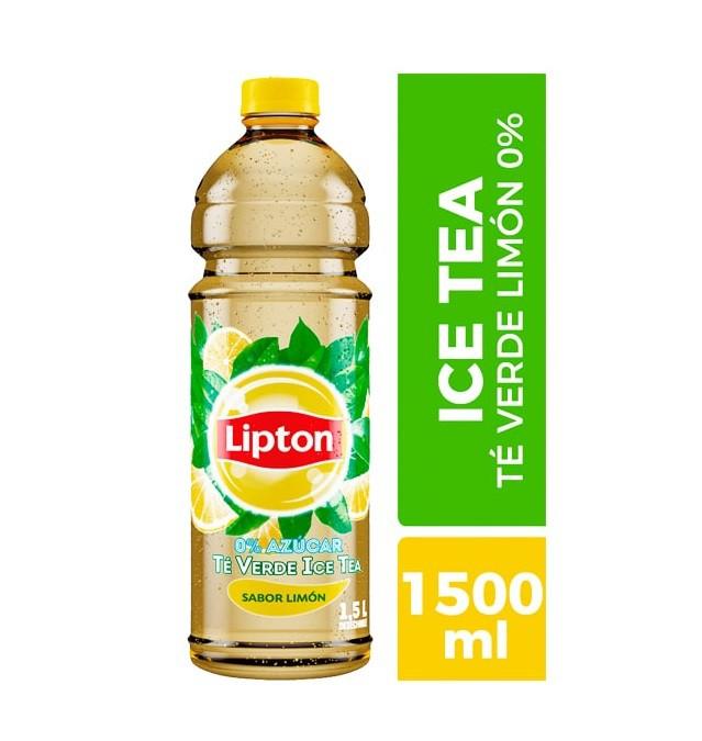 Té verde sabor limón 0% azúcar