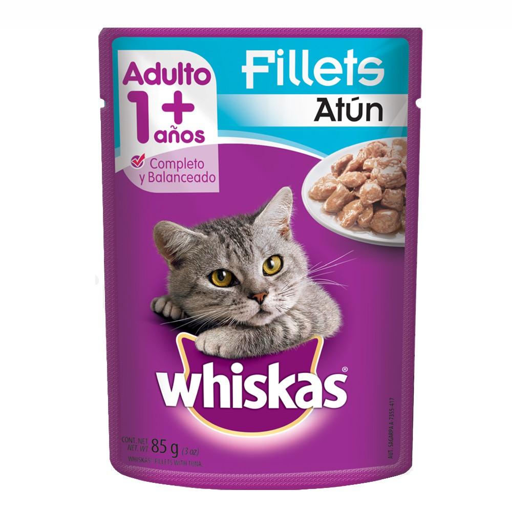Alimento húmedo para gatos fillets atún