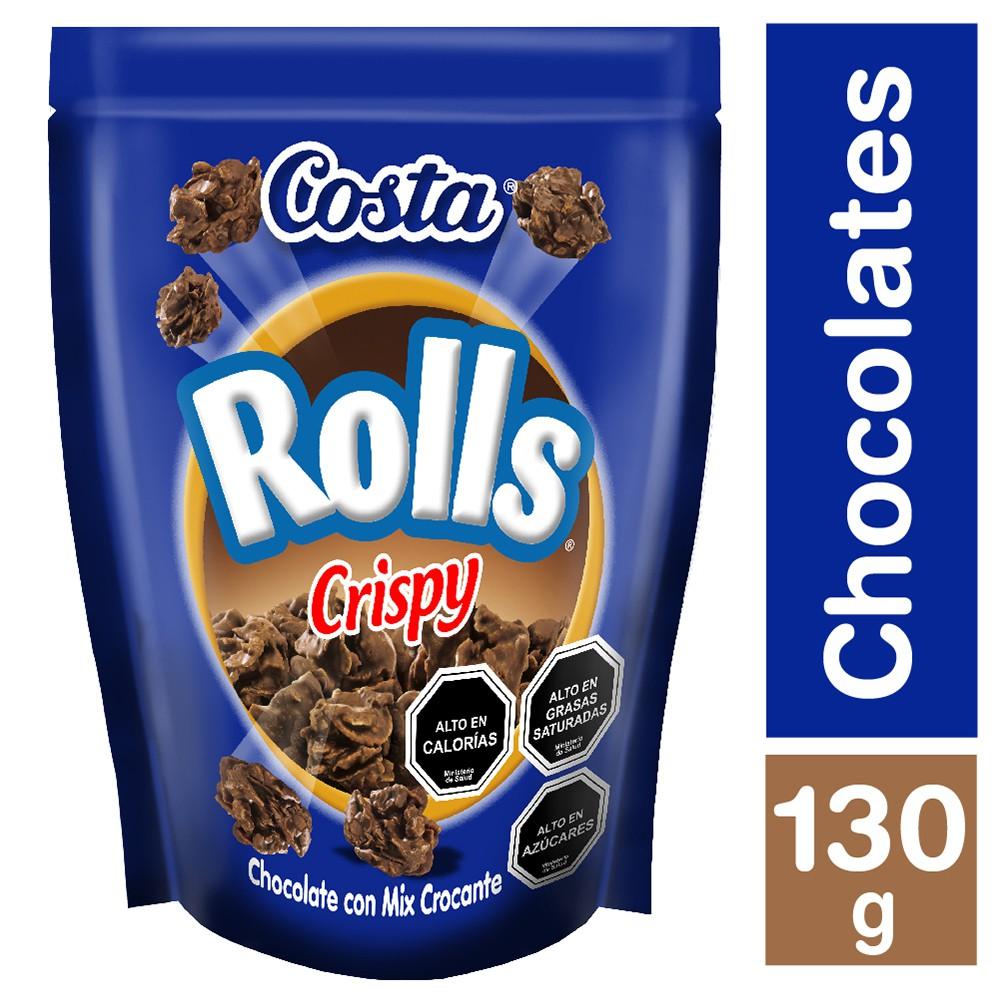 Chocolate Rolls crispy