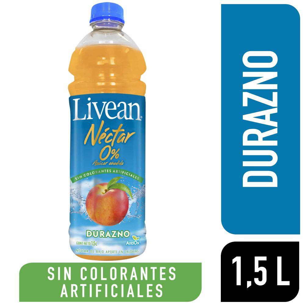 Néctar sin azúcar sabor durazno