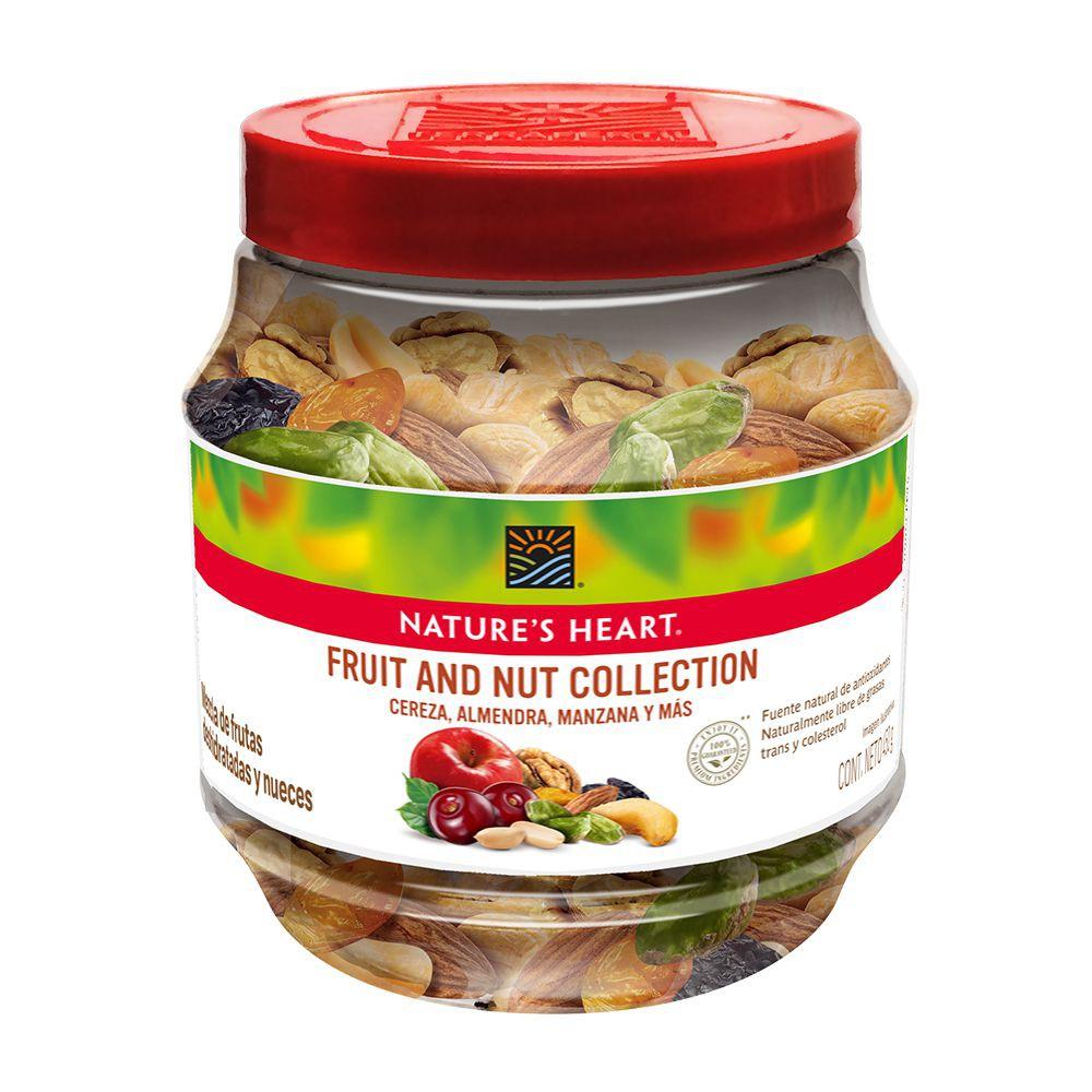 Snack de nueces y frutas