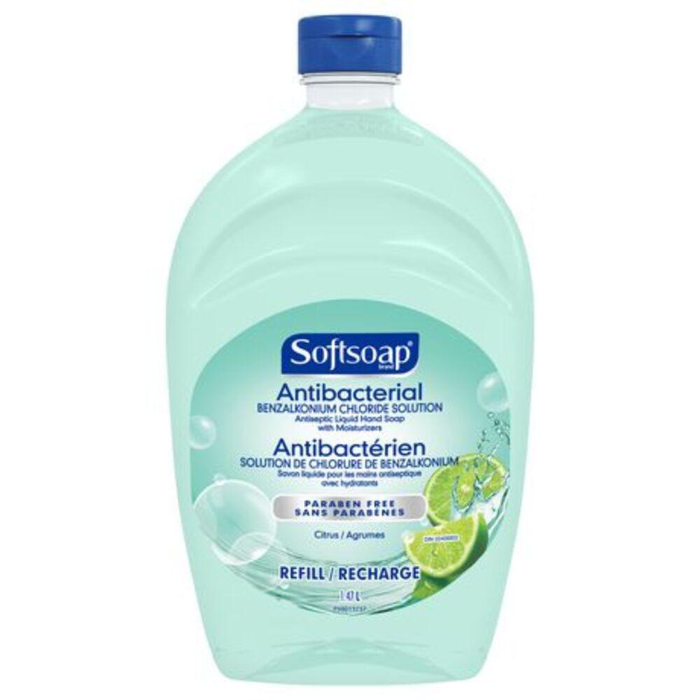 Antibacterial hand soap refill fresh citrus