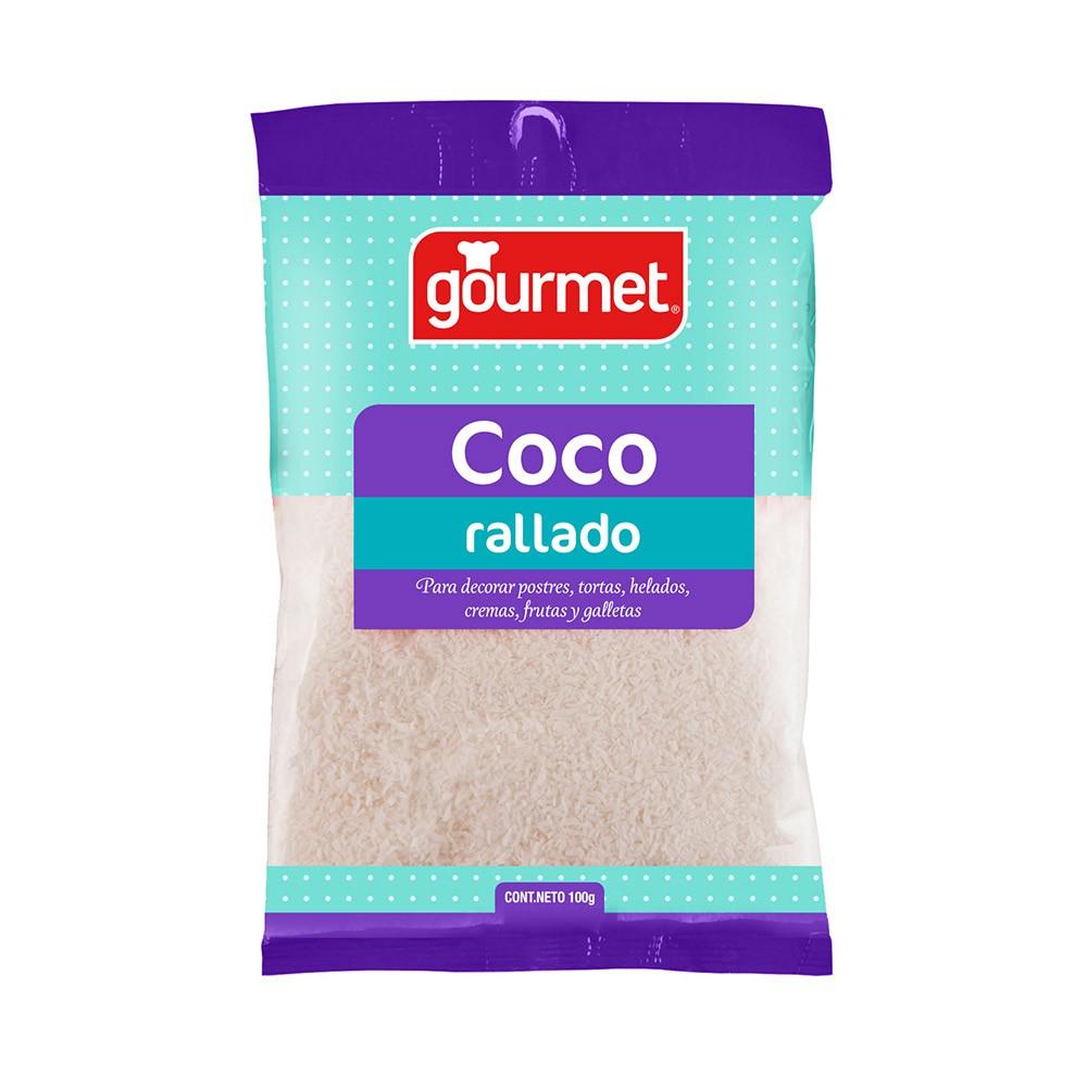 Coco rallado blanco
