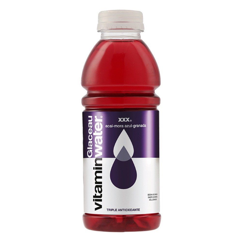 Bebida energética acaí mora azul granada
