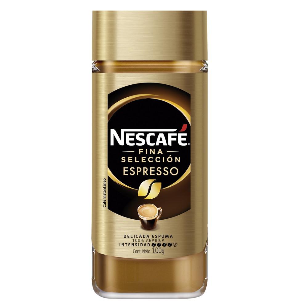 Café instantáneo fina selección espresso