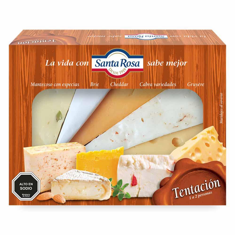Tabla de quesos tentación
