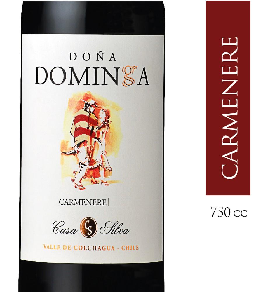Vino carmenere Doña Dominga