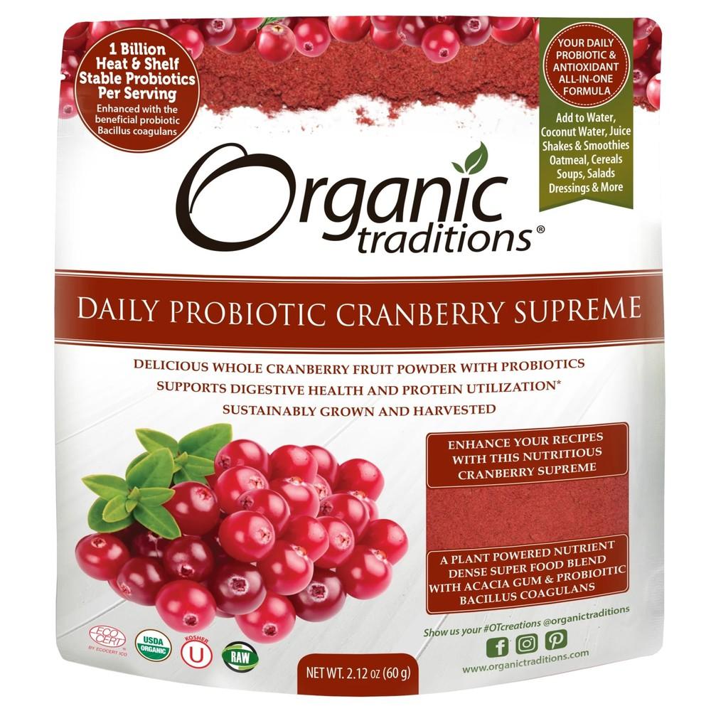 Probiotic cranberry supreme