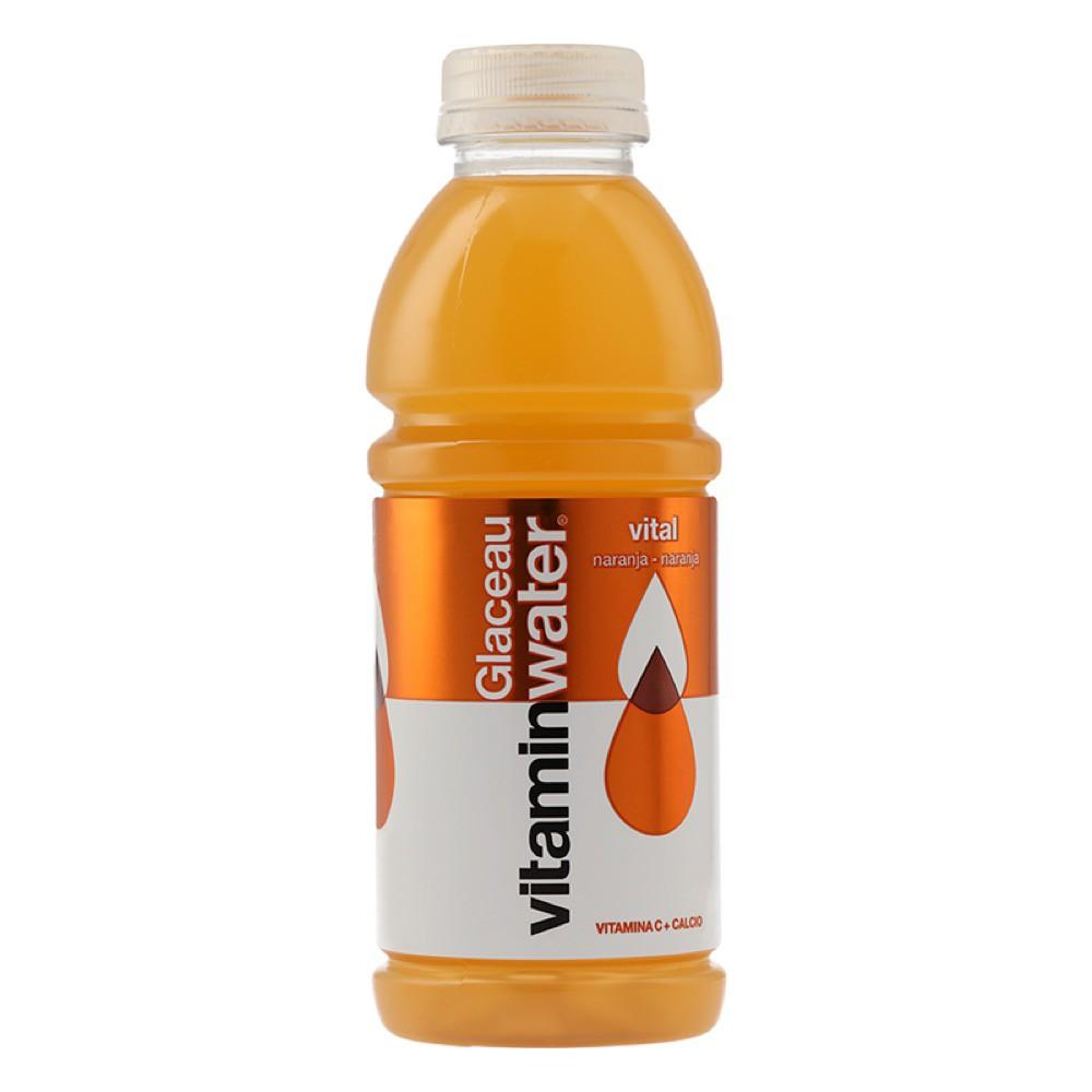 Bebida energética vital naranja