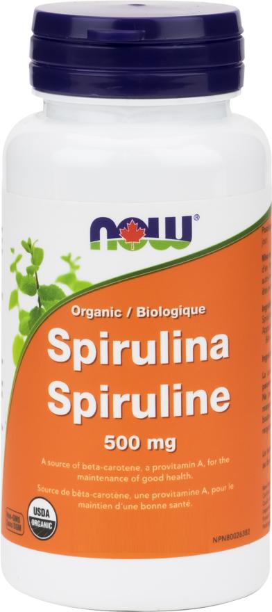 Spirulina tablet 500 mg 200 units