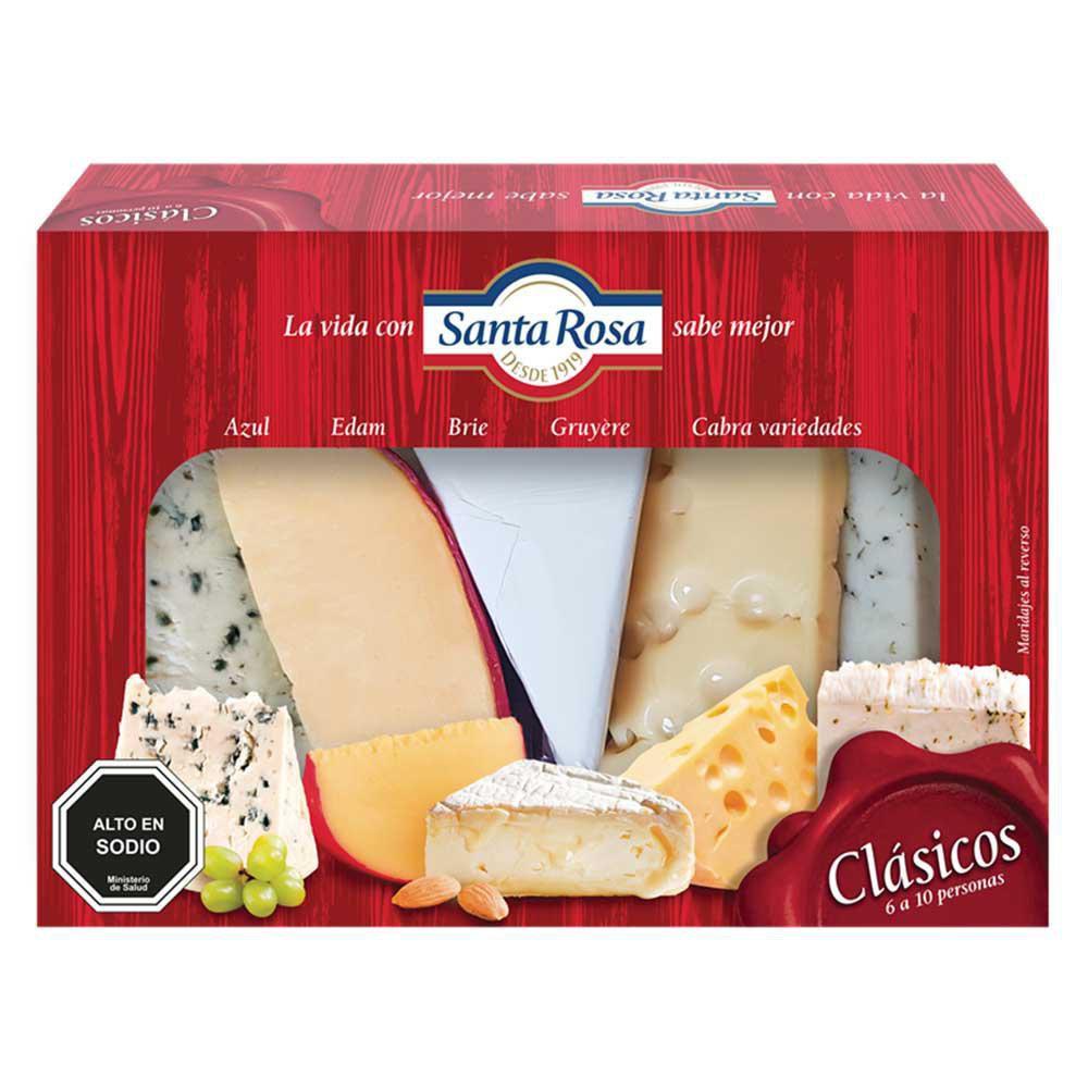 Tabla de quesos clásicos