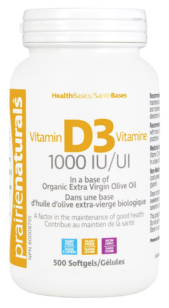 Vitamin d3 1000 mg 500 units