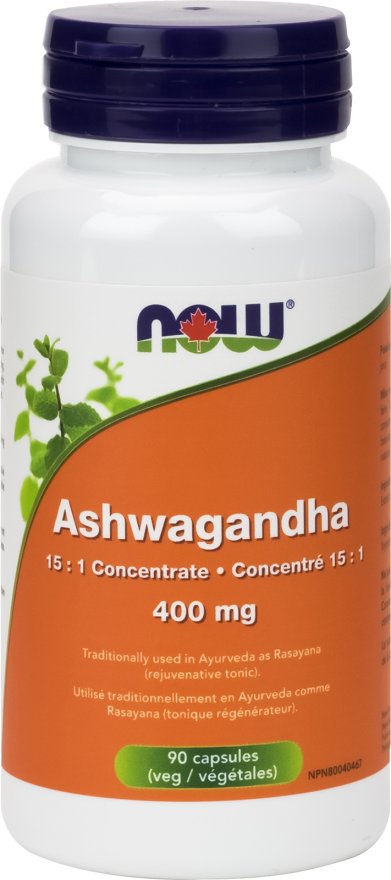 Ashwagandha veg capsules 400 mg 90 units