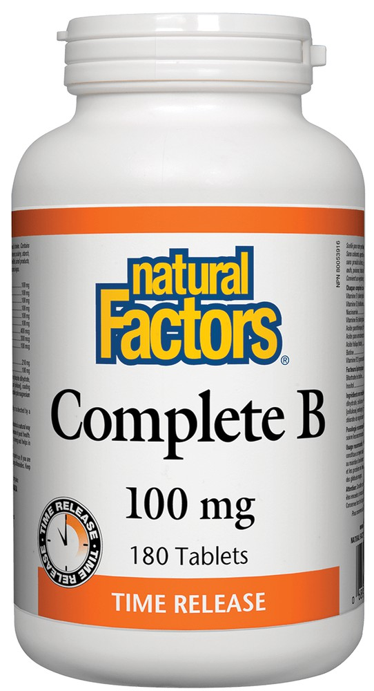 Complete B tablets 100 mg