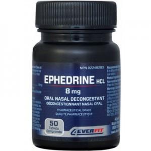 Ephedrine HCl tablets 8 mg 50 units