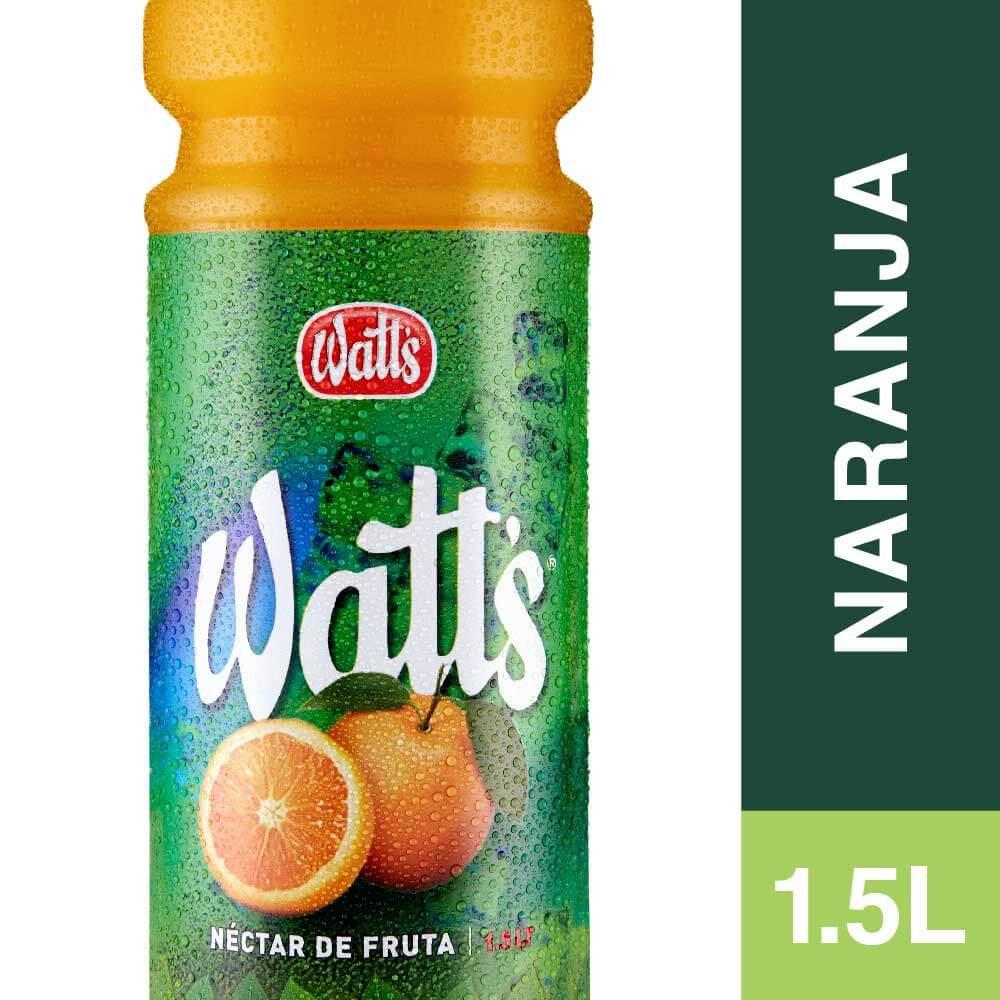 Jugo néctar de naranja