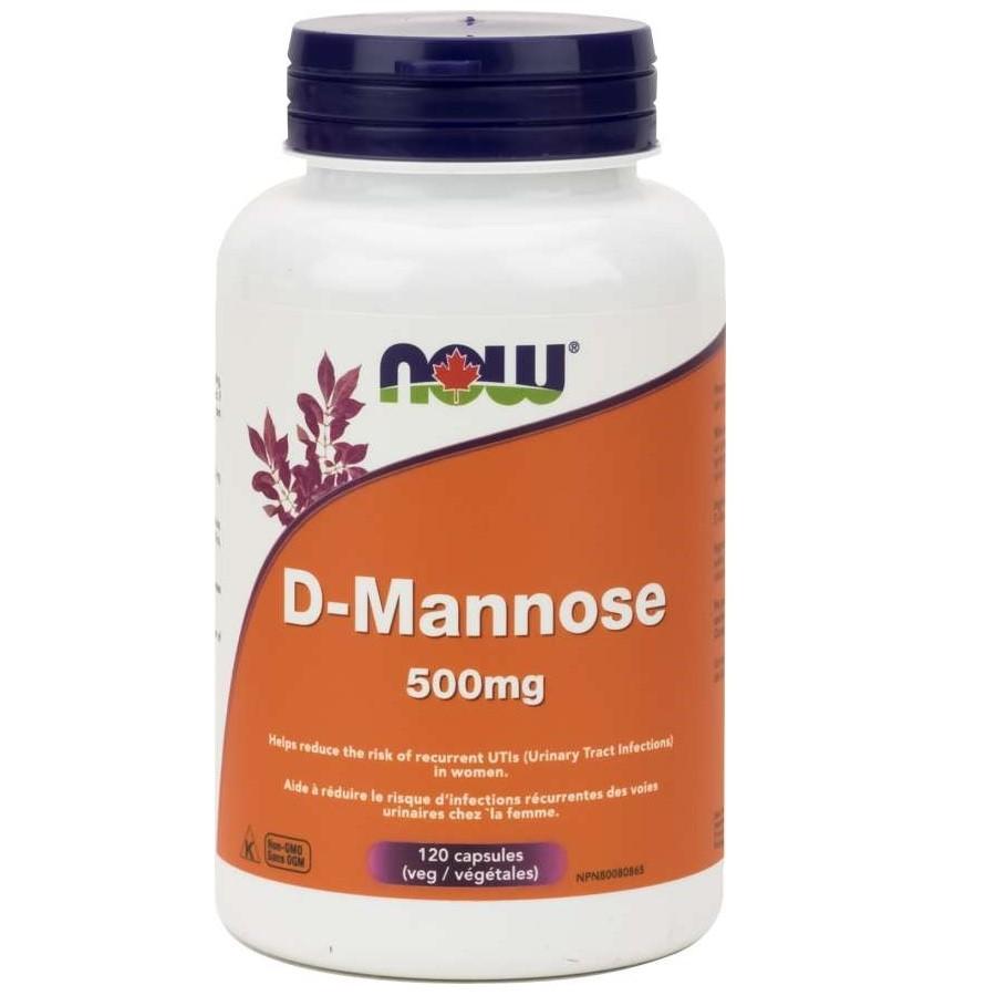D-mannose capsules 500 mg