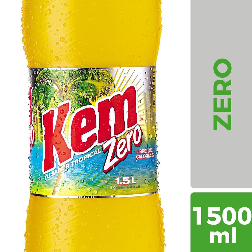 Bebida sabor tropical zero