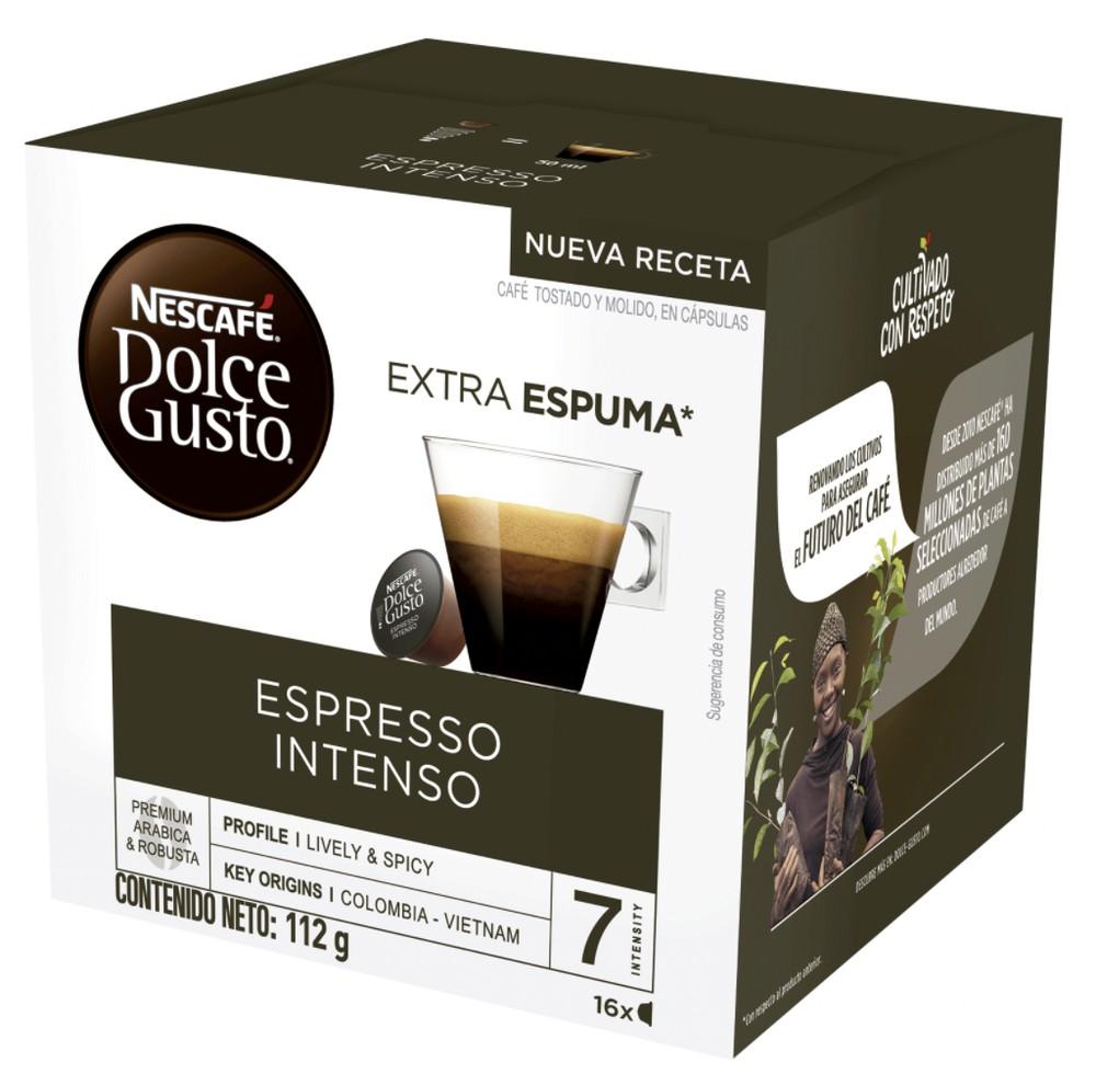 Café Nescafé Espresso Intenso cápsulas