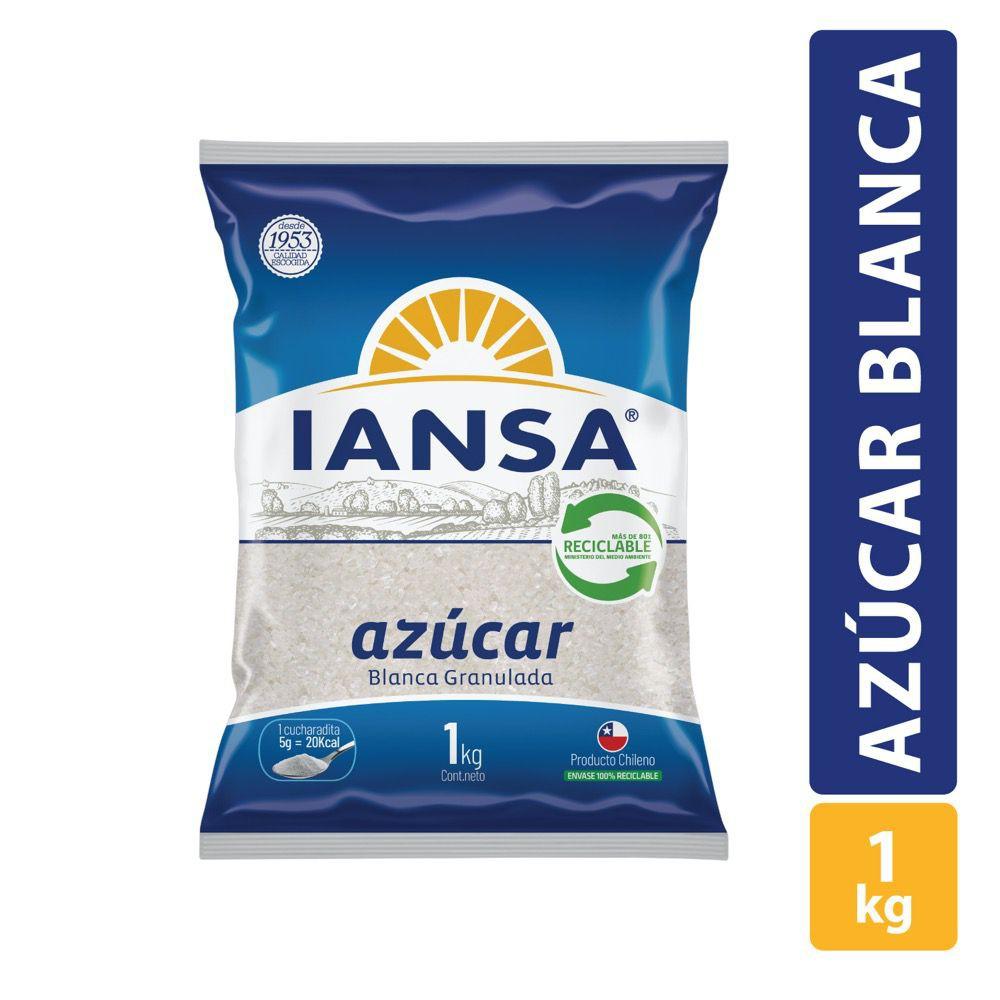 Azúcar blanca granulada Bolsa 1 kg