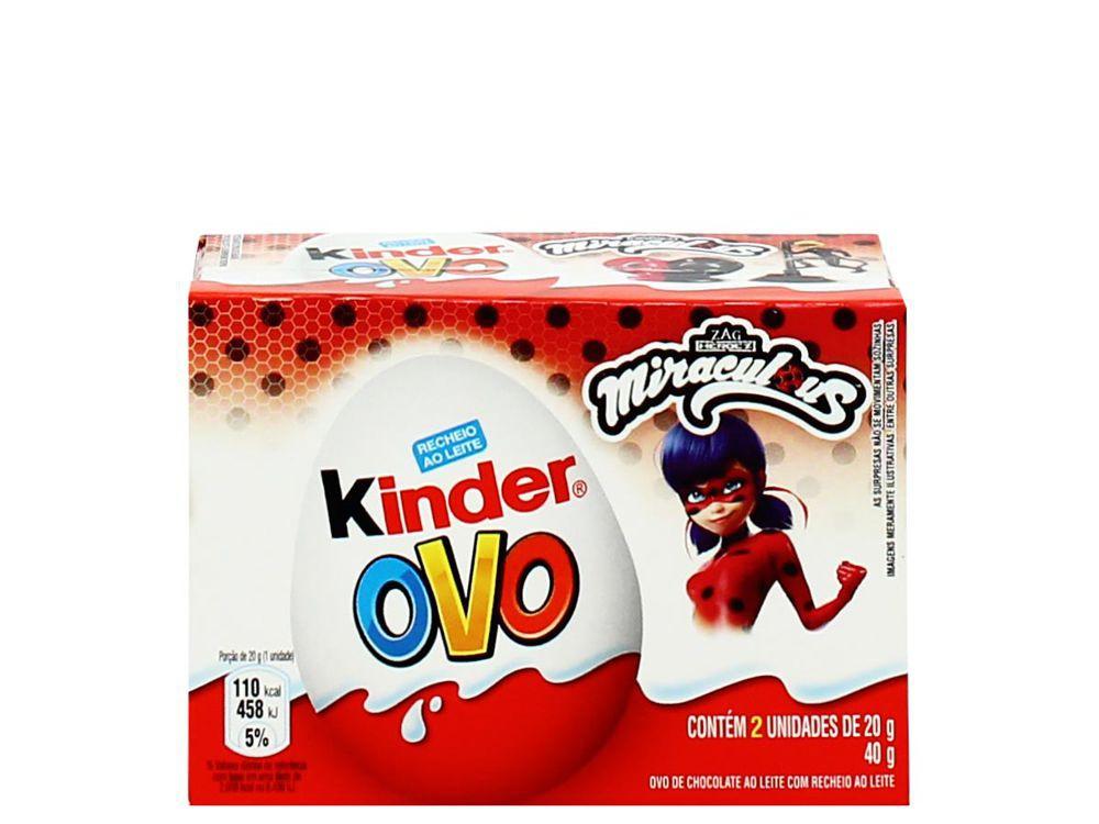 Chocolate ao leite Miraculous Ladybug