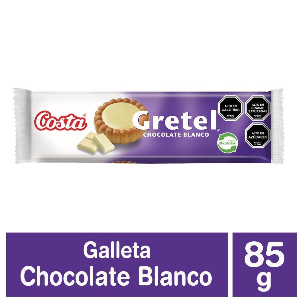 Galletas Gretel rellenas con chocolate blanco