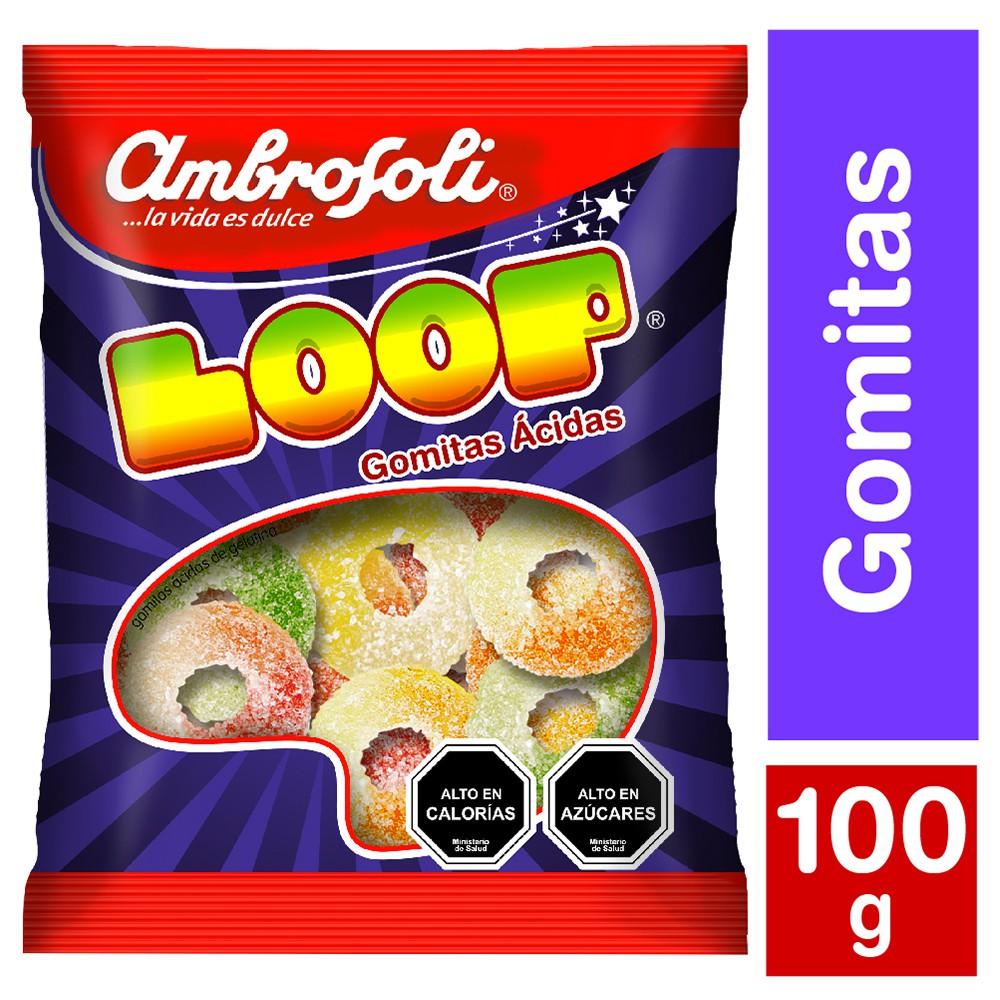 Gomitas ácidas Loop