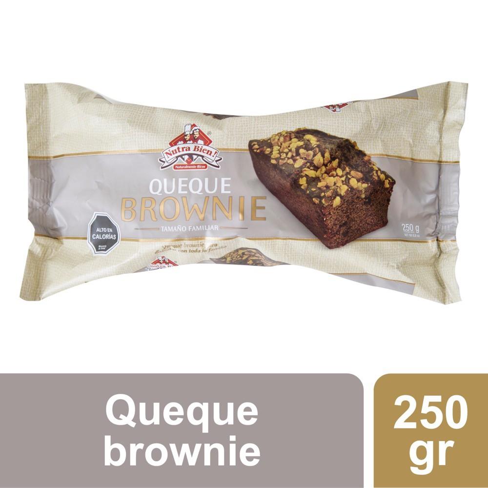 Queque brownie familiar sabor chocolate