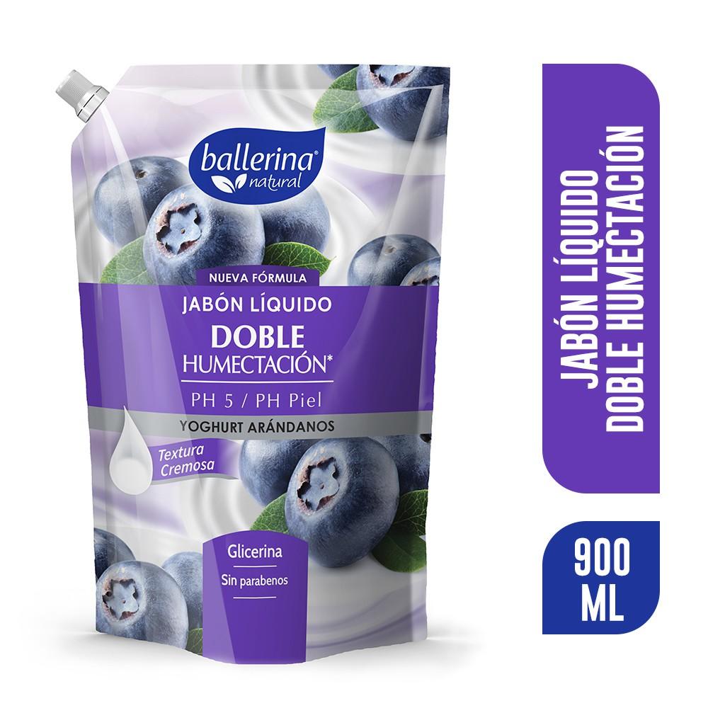 Jabón doble humectación yoghurt arándanos