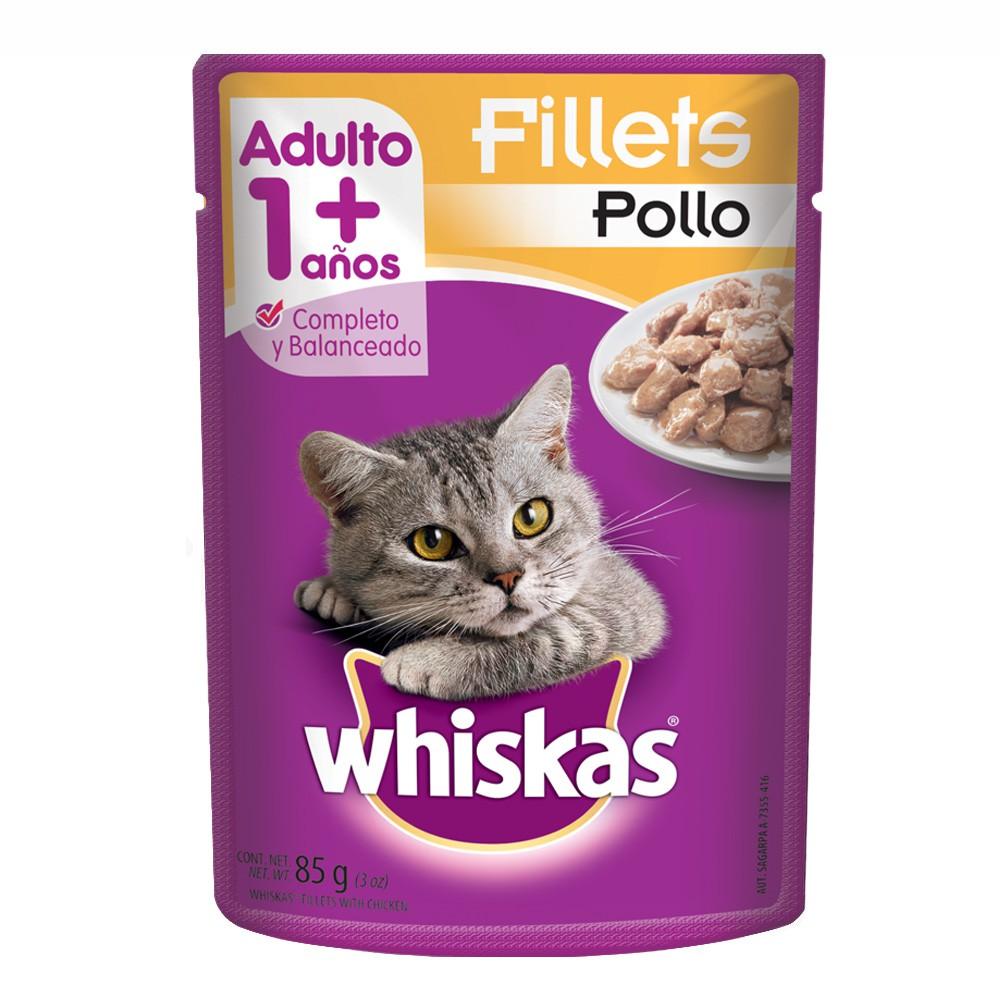 Alimento húmedo para gatos fillets pollo