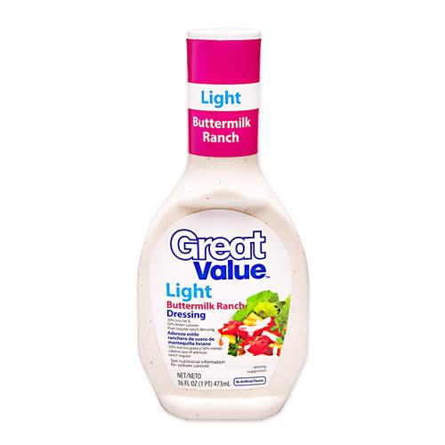 Aderezo Ranch Light Botella 473 cc