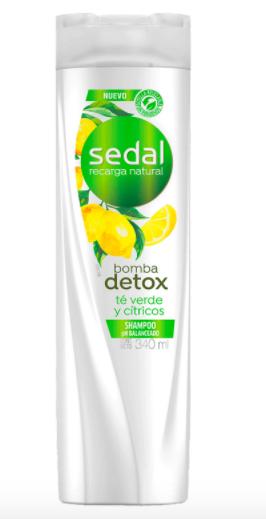 Shampoo bomba detox