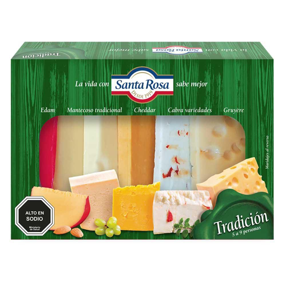 Tabla de quesos tradición