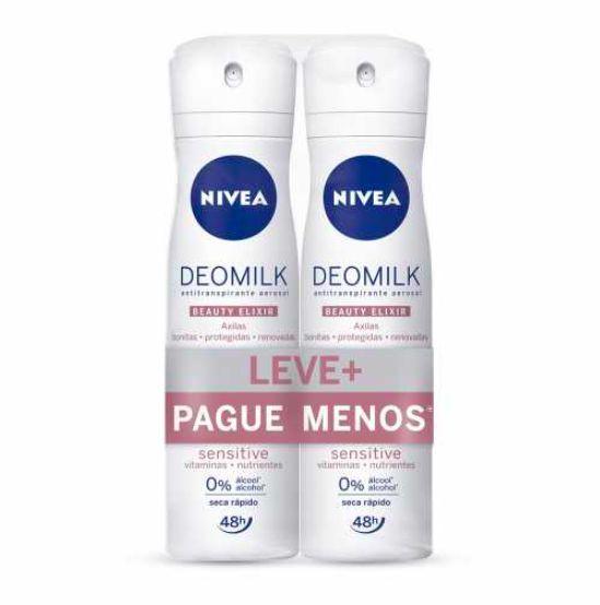 Kit desodorante aerosol Deomilk