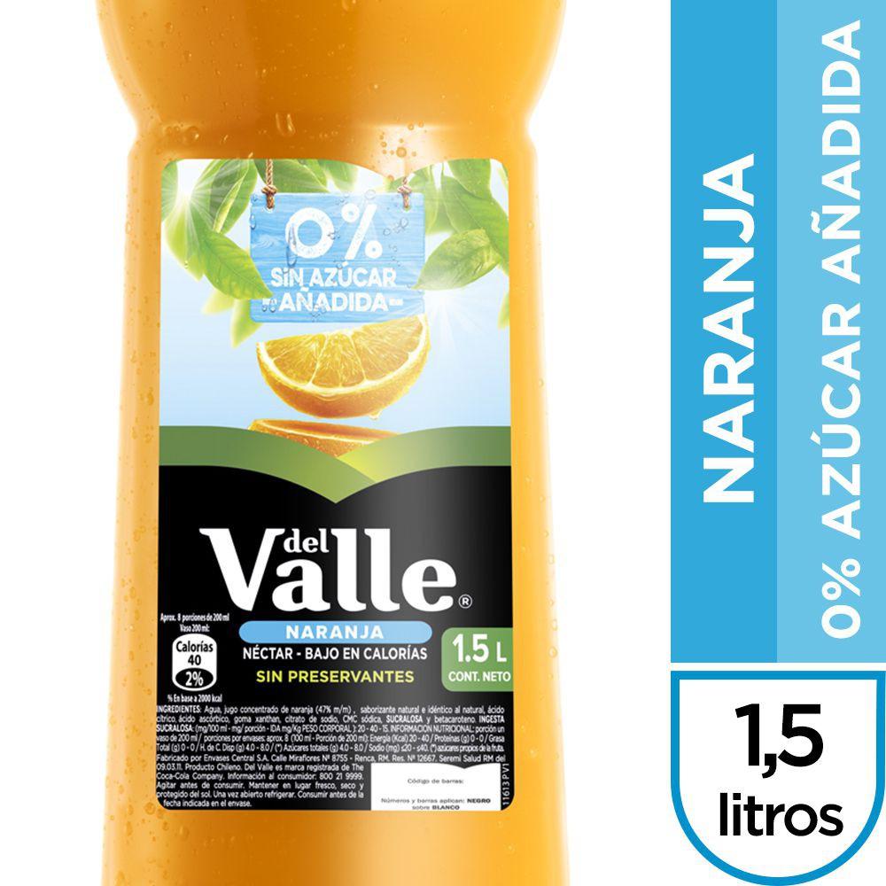 Néctar naranja 0% azúcar añadida