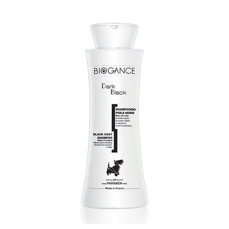 Dark black shampoo