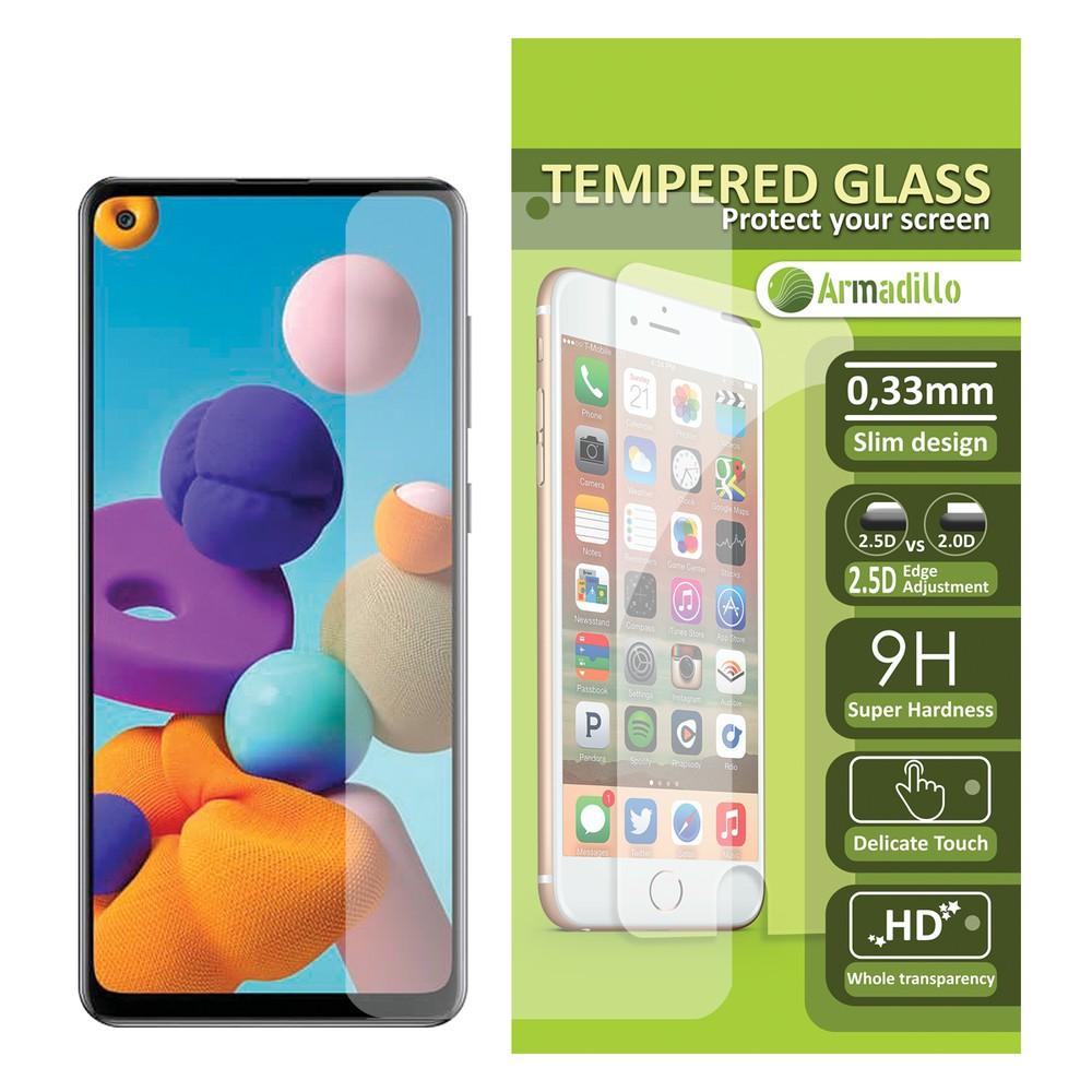 Templed glass / mica  vidrio Samsung Galaxy A21S Lamina
