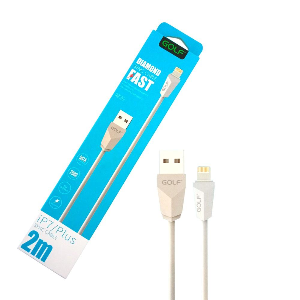Cable para iPhone Lightning / 2 metros Blanco