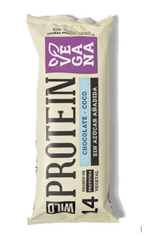 Barra proteínas vegana chocolate coco