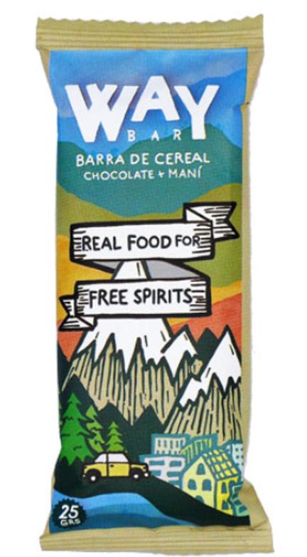 Barra cereal chocolate maní