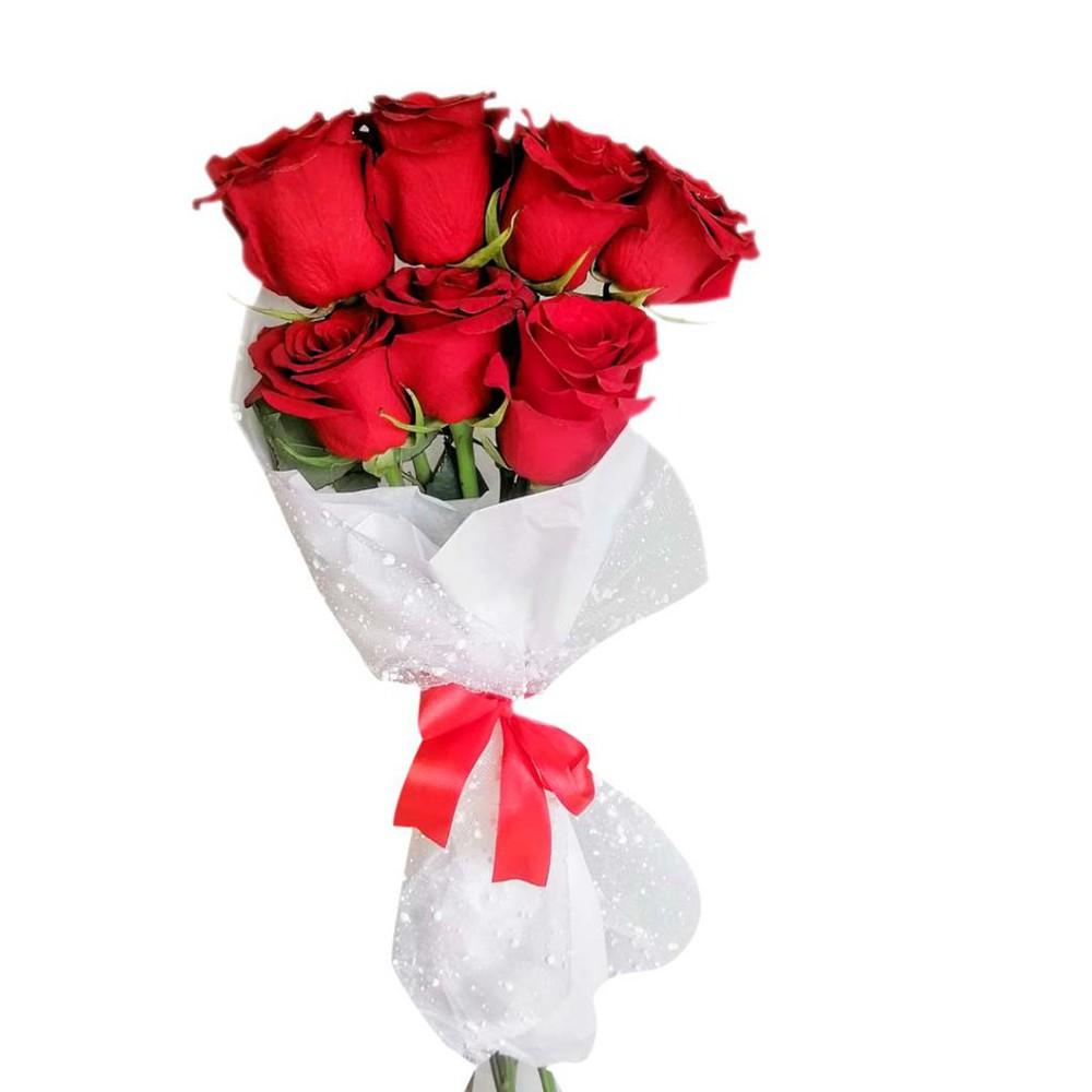 Ramillete 7 rosas