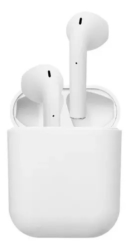 Audífonos inalámbricos bluetooth inpods12 blancos Batería: 2-3 hrs