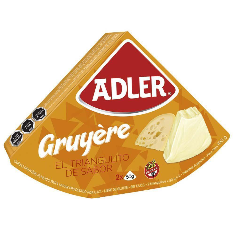 Porción de queso sabor Gruyère