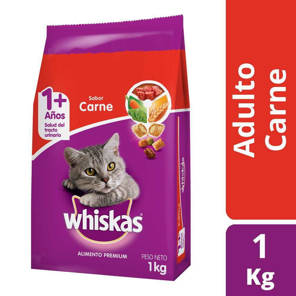 Alimento para gato adulto sabor carne