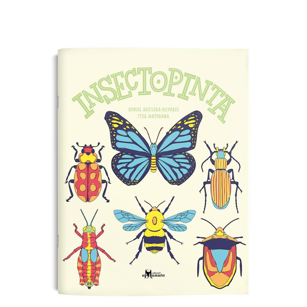 Insectopinta Tapa blanda con corchetes. 32 páginas